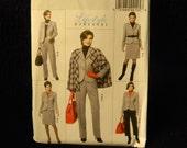Uncut Butterick Pattern 5687 Size 16-22 Misses Lifestyle Wardrobe, Cape, Jacket, Skirt and Pants