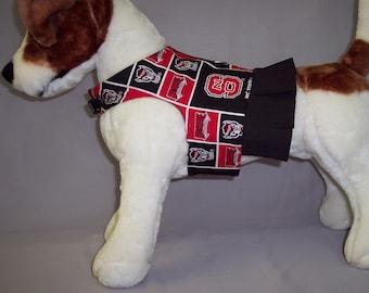 PET HARNESS WEAR in North Carolina State Wolfgang Cheerleader Dress