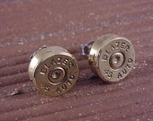 Bullet Earrings 45 Auto Brass Shell - Free Shippping to USA