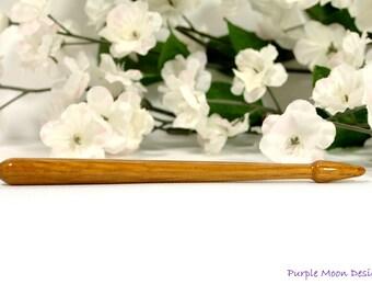 Short Hair Stick, Oak Hairstick - #SM06