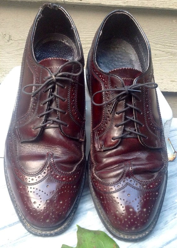 Mens Cordovan Dress Shoes With Vibram Soles