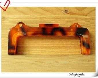 Resin purse frame Clutch frame  22cm x 7.5cm (8 3/4  inch x 3 inch )   M60