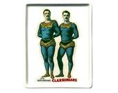 The Clarkonians Tumblers mini-tray