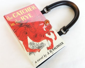 Catcher In The Rye Book Purse - Teacher Gift - Classical Literature Collector Gift