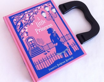 A Little Princess Book Purse - Little Princess Book Clutch Birthday Gift - Princess Gift - Little Princess Book Cover Handbag