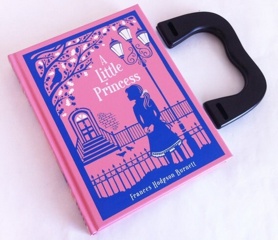 A Little Princess Book Purse - Little Princess Book Clutch Birthday Gift - Princess Gift - Little Princess Book Cover Handbag