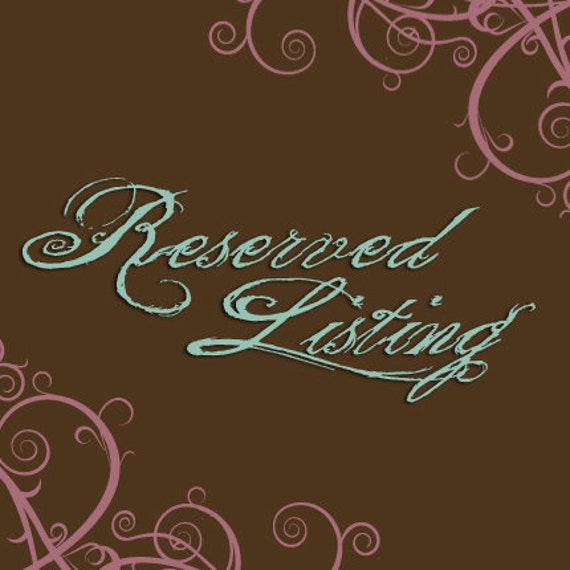 RESERVED for Ewe