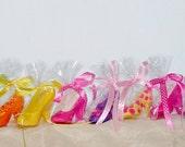 10 Ladies Chocolate High Heel Shoes polka dots, animal prints