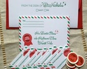 Official Santa Letterpress Holiday Pack for Christmas