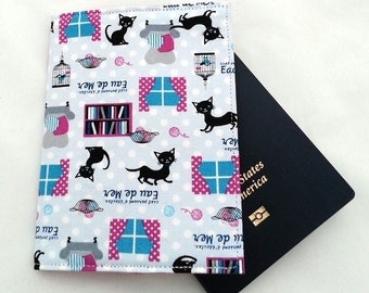 SALE Passport Cover / Kitty
