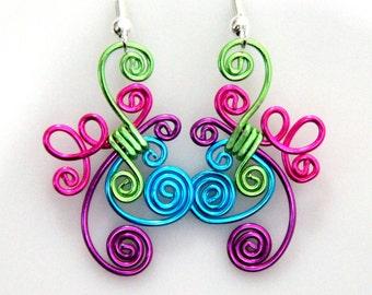 Cute Loop de Loop Earrings