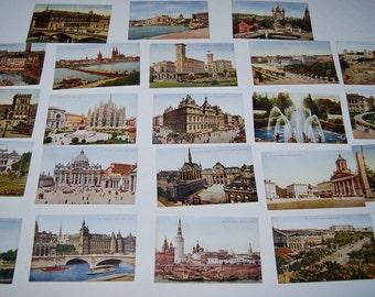 Vintage Postcard European Antique Collection....22 Pieces