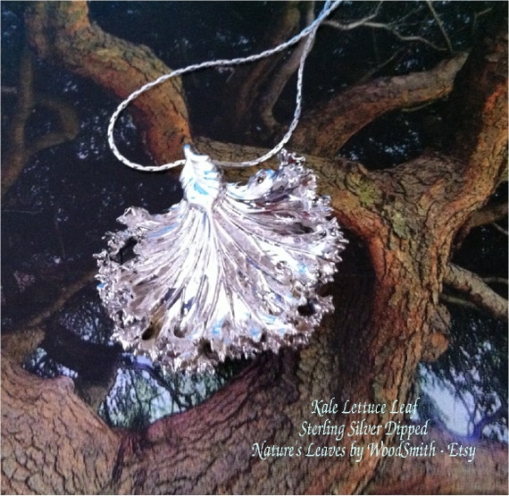 Leaf Jewelry Silver Silver ◅ ▻ Real Leaf