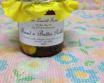 Bread n Butter Pickles, Regular or Spicy