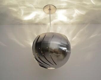 "Iris Pendant Light  - 13"" Stainless steel, on sale 20% off"