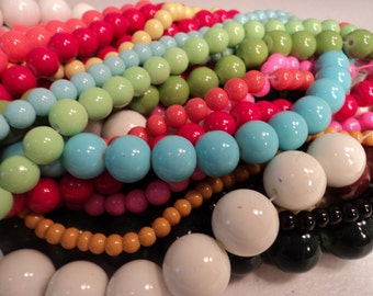 Glass Bead Mix - 4 strands