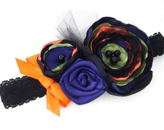 Ready to Ship SALE! Halloween Couture Soft Elastic Headband, Custom Size