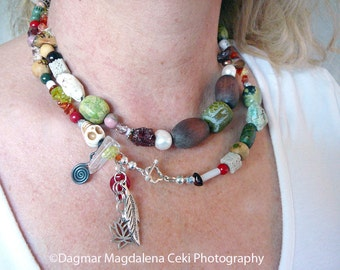 Thank Goodness For Impermanence - Buddha Awakening Bracelet / Necklace