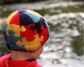 Knit Hat Pattern: Autism Awareness Puzzle Hat