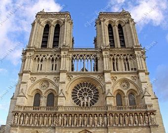 Notre Dame Cathedral, Paris, France Architecture Fine Art Photography Photo Print