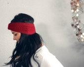 versatile turban knot ear warmer / headband . eco friendly . vegan . PICK YOUR COLOR
