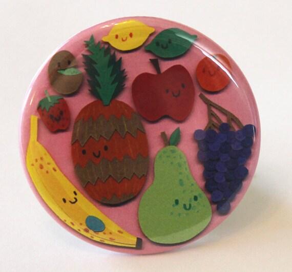Fruit Pocket Mirror
