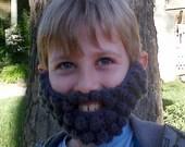 Crochet Mountain Man Beard