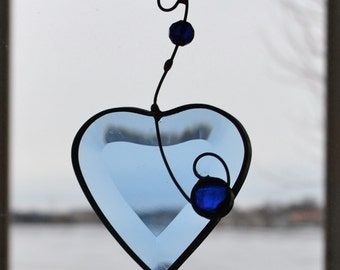Heart     I'm Blue without You Stained Glass  Suncatcher