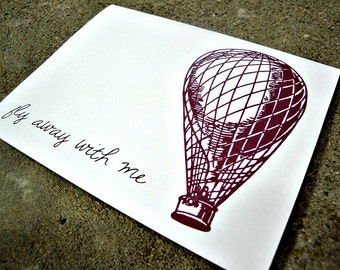 Fly Away With Me - Greeting Card