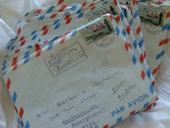 3 Antique Love Letters From A Sexy French Man To By