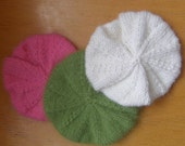 Reserved for Samantha - Angora Handknitted Berets for Blythe