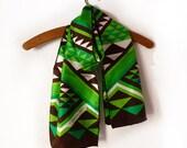 AMAZING Vintage Francoise Guerin Paris  Silk Scarf -