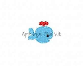 Machine Embroidery Design Embroidery Whale INSTANT DOWNLOAD