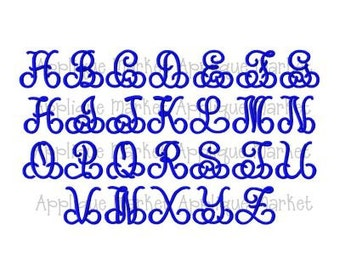 Machine Embroidery Design Font Splendid Monogram Font with Bonus Frames INSTANT DOWNLOAD