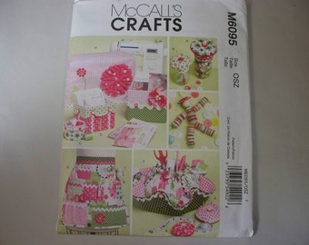 New McCall's, Sewing Room Accessories  Pattern, M6095 (Free US Shipping)