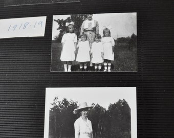 Identical Twins Photo Collection/Vintage 1920s 30s 40s/Photo Album Filled Childhood Photos of Twin Sisters