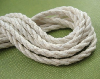 Cotton Seine Twine #48 Natural - 9 feet   (C30)