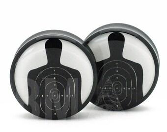 "1"" (25mm) Shooting Target BMA Plugs Pair"