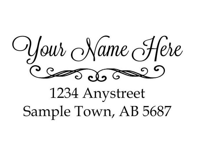 Personalized Self Inking Address Stamp - Return address stamp R95