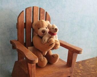 Mini Mama Bear and Baby Bear 3+Inches