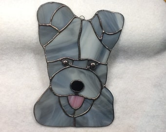 Pumi Stained Glass Sun Catcher