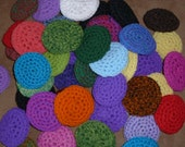 "3"" crochet nylon scrubbies"