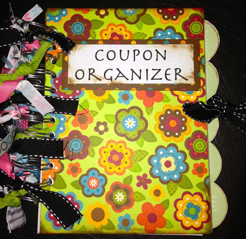 coupon organizer envelope system