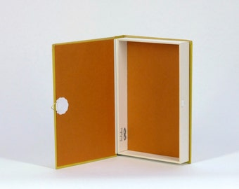 Hollow book safe / Vintage US. book / Secret box /  'Local Anaesthetic'