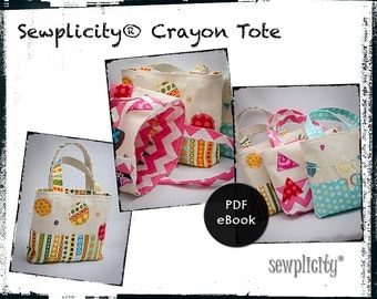 PDF eBook - Sewplicity Crayon Tote
