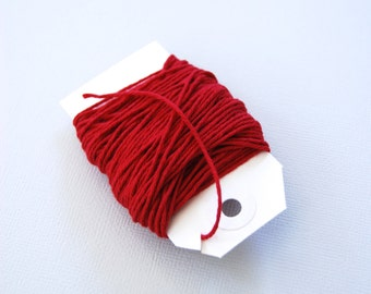 Solid Red Twine 15 yards