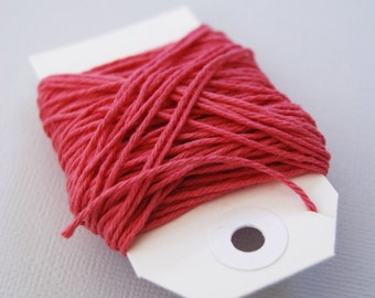 Solid Dark Pink Twine 15 yards