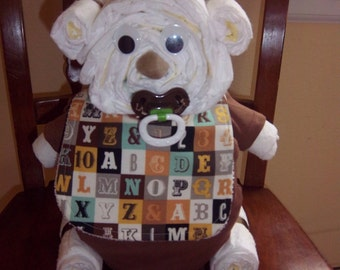Bear Friends Diaper Bear