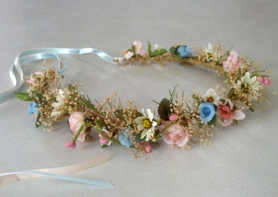 Country Wedding Hair Accessories Headwreath Natural Babys