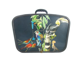Small Aviary up-cycled Suitcase